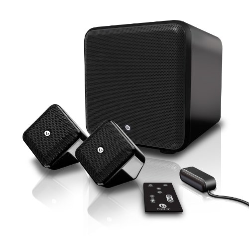 Boston Acoustics 2.1 Surround Speaker System - Black