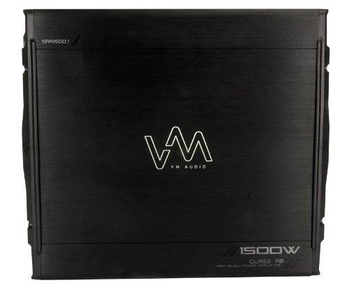 Vm Audio Sra1500.1 1500W Mono Ab Car Amplifier Power Amp Mosfet Stereo+Remote
