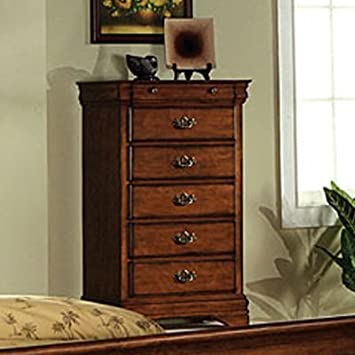 Venice II Dark Oak Finish Bedroom Chest