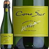 コノスル・ブリュットNV(ハーフ) チリ 白スパークリングワイン 375ml(ハーフ) 辛口