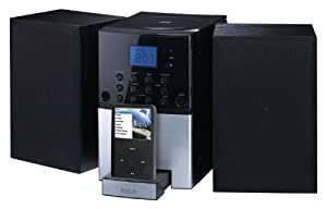 RCA RS2128iH CD Music System for iPhone and iPod