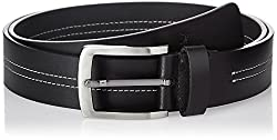 Parx Men's Leather Belt (8907114599227_95_black)