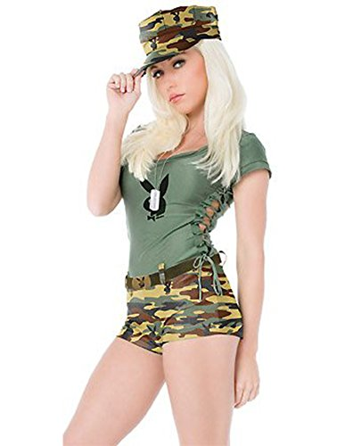 PLAYBOY Bootcamp Babe Halloween Costume