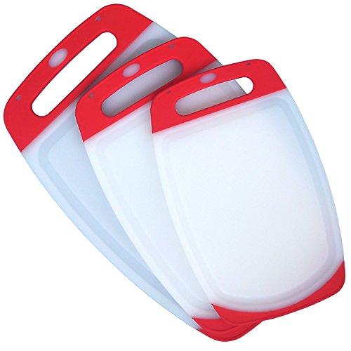 panneau-de-decoupe-en-poly-plastique-reversible-3-pieces-avec-pieds-antiderapants-reservoir-de-reflu