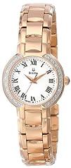 Bulova Womens 98R156 Classic Round Diamond Accented Watch