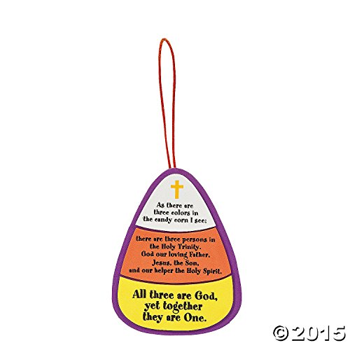 Candy Corn Trinity Craft Kit (Halloween Sunday School Lessons)