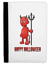 Cute Devil - Happy Halloween Design Ipad Mini Fold Stand Case - Black
