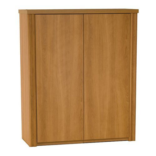 Bestar Office Furniture Embassy Collection Two-Door Storage Cabinet, Tuscany Brown Embassy Collection 2 Door Cabinet