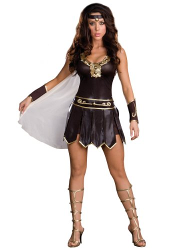 Dreamgirl Women's Babe-A-Lonian Warrior Queen Costume