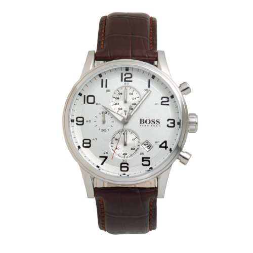 Hugo Boss Elegant Mens Chronograph Watch 1512447