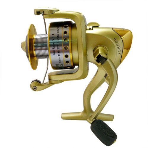 Super Fishing Bass Spinning Reel New XD6000 R18