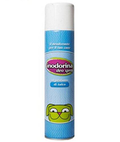Inodorina Deo Spray al profumo di Talco - Deodorante per rinfrescare e igienizzare il manto del cane