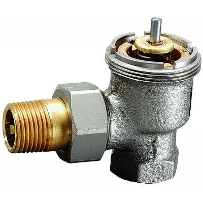 3/4 Inch High Capacity Thermostatic Radiator Valve, Angle