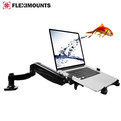 2 in 1 FLEXIMOUNTS L01 Full Motion Swivel LCD Arm,Desk Mounts for 11
