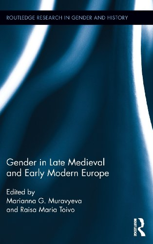 Gender in Late Medieval and Early Modern Europe (Routledge Research in Gender and History)