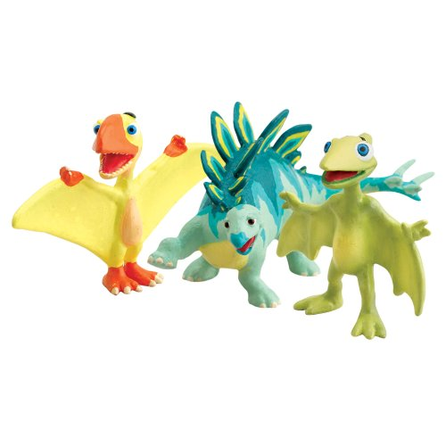 Learning Curve Dinosaur Train Collectible Dinosaur 3 Pack - My Friends Have Beaks And Bills: Tiny, Petey And Morris