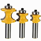 22.2 / 25.4 / 35ミリメートル1/2インチシャンク超硬ルータービット木工カッター彫刻ツール(ランダム:サイズ)