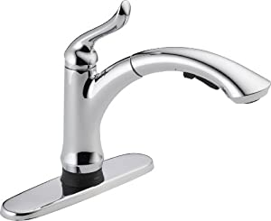 Delta Faucet 4353T-DST Linden Single Handle Pull-Out