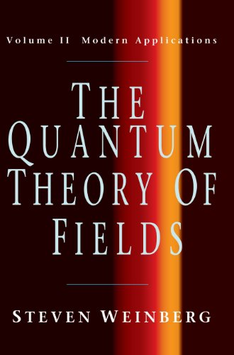 The Quantum Theory Of Fields, Vol. 2: Modern Applications front-1049142