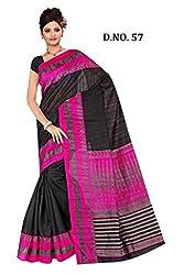 Kaizen International Bhagalpuri Silk Saree-57