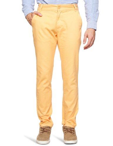 Bellfield MTRS-11214O Slim Men's Trousers Orange Sorbet W30 INxL32 IN