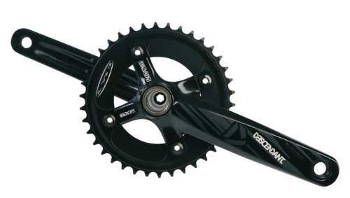 Truvativ GXP Descendant 36T165 Crankset with 83 Bottom Bracket (Black)
