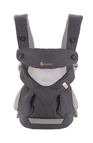 Ergobaby Four Position 360 Cool Air Mesh Baby Carrier Carbon Grey (Ergo Baby Carrier Four Position compare prices)