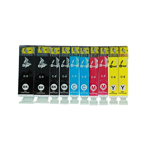 iTinte Compatible Canon PGI 5 / Canon CLI 8 Ink Cartridges: PGI 5 (2 Black) , CLI 8 (2 Black, 2 Cyan, 2 Magenta, 2 Yellow) 10 Pack (Pixma Mx700 Print Head compare prices)