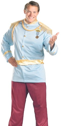 Deluxe Plus Size Prince Charming Costume