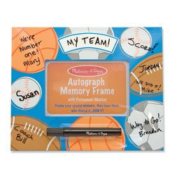 Melissa & Doug Deluxe Sports Autograph Memory Frame - 1