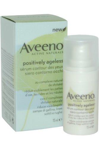 Aveeno Positively Ageless Eye Serum with Shittake Complex, 15ml