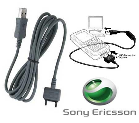 Datenkabel USB DCU-60 D750i | J100i | J110i | J120i | J220i | J230i | K200i | K220i | K310i | K320i | K510i | K530i | K550i | K610i | K750i | K770i | K800i | K810i | K850i | M600i | P1i | P990i | S500i | S600i | T250i | T650i etc