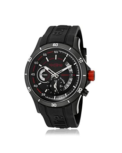red line Men's 50021-BB-01 Tech Black Silicone Watch