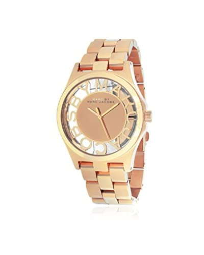 Marc by Marc Jacobs Women's MBM3207 Henry Rose Gold Stainless Steel Watch