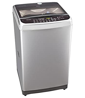 LG T8568TEELY Fully Automatic Top Loading 7.5 kg Washing Machine (Free Silver)