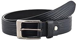 Midas Men's Belt (BFB421_40 , Black)