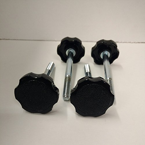 2007-2016 Jeep Wrangler JK Knob Soft top Door Surround Pin Bolts Set of 4 (2015 Jeep Soft Top compare prices)