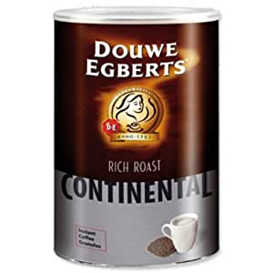 douwe egberts continental coffee rich roast 750g ref a03664 grocery gourmet food. Black Bedroom Furniture Sets. Home Design Ideas