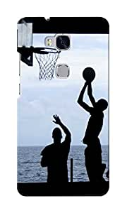 KnapCase Play Basketball Designer 3D Printed Case Cover For Huwaei Honor 5X