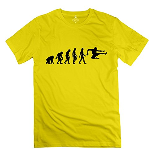 Stylish Casual Evolution Karate T Shirts For Teenagers