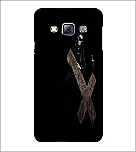 PrintDhaba Cross D-2136 Back Case Cover for SAMSUNG GALAXY A3 (Multi-Coloured)