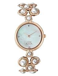 Titan Perola Raga Pearl 9971WM01 Analogue Watch - For Women