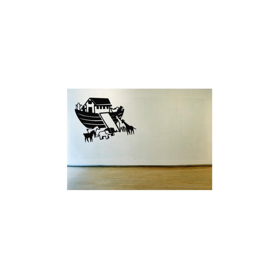Noahs Ark Arc Vinyl Wall Decal Sticker Graphic