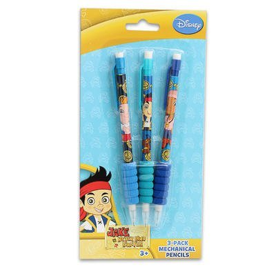 1 piece of JAKE & THE PIRATES 3pk MECHANICAL PENCILS - 1