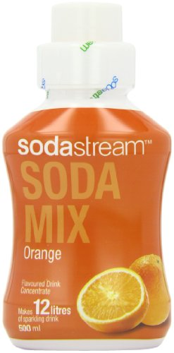 Sodastream Flavouring Syrup Orange 500 ml Bottle (Pack of 6)