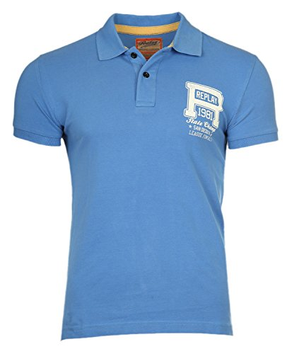 Replay -  Polo  - Uomo blu 50/52