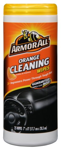 ArmorAll 10831 Orange Cleaning Wipes