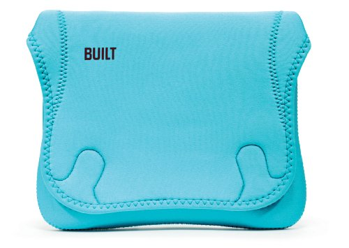 Built Apple Ipad Or Ipad 2 Neoprene Envelope, Scuba Blue