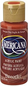DecoArt Americana Acrylic Paint, 2-Ounce, Country Red