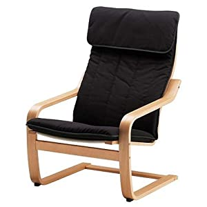 Amazon.com - Ikea Poang Chair Armchair with Cushion, Cover ...